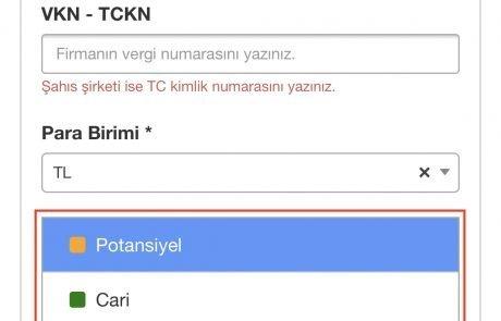 Formeras Türkçe CRM